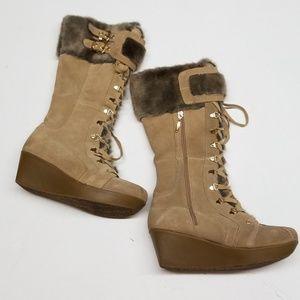 Report Knee High Winter Boots